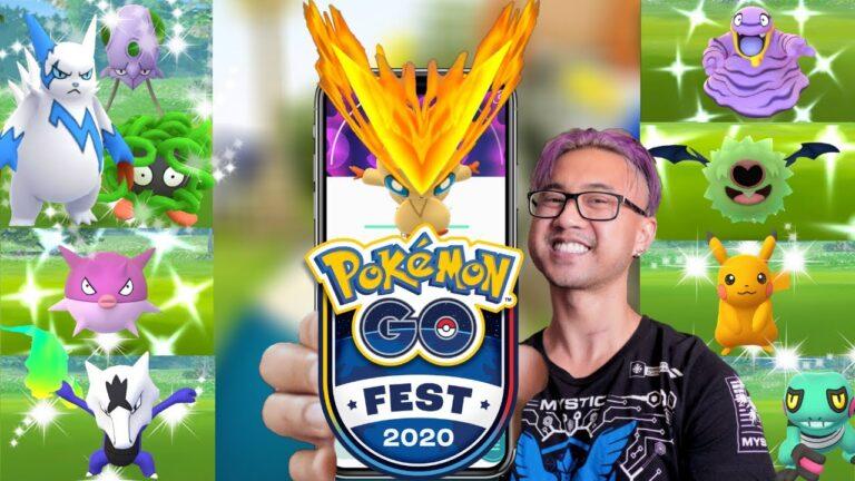 I F$#&ED UP AGAIN! GO FEST 2020 Pokemon GO (2020)
