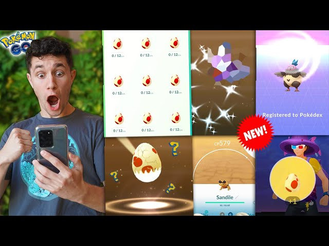 HATCHING ALL 12KM EGGS… WHAT'S INSIDE? (Pokémon GO)