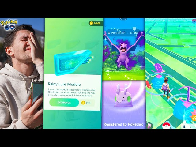 THE NEW RAINY LURE – is it any good? (Pokémon GO)