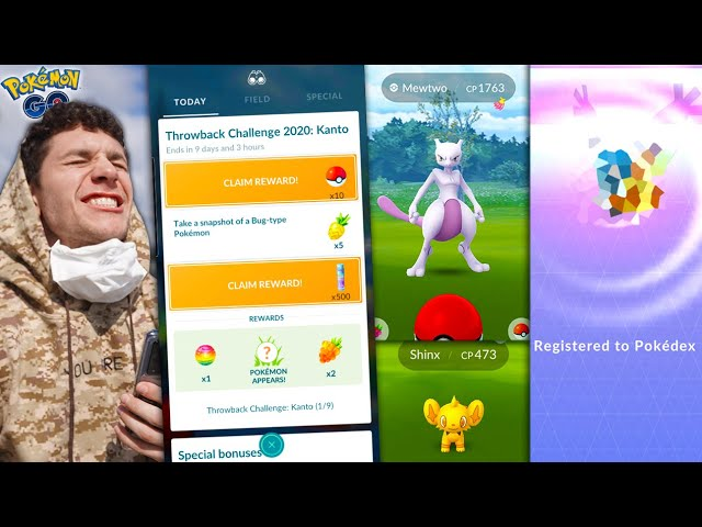 I FINISHED THE KANTO SPECIAL RESEARCH EARLY… FREE MEWTWO in Pokémon GO!