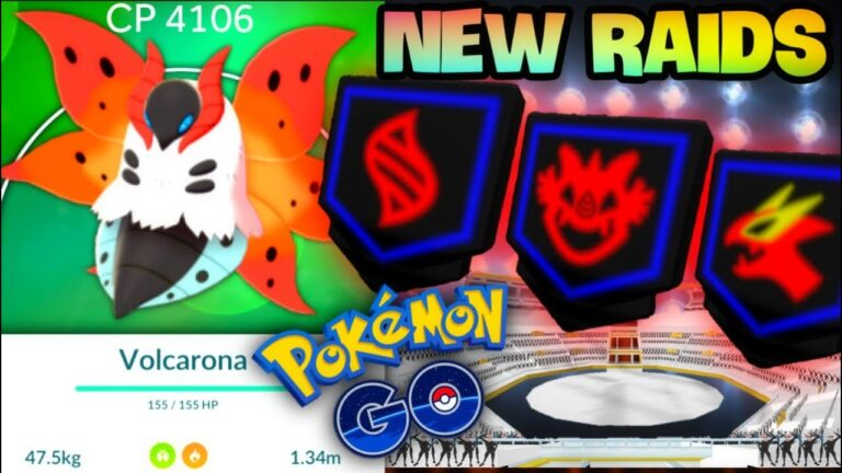 Get Ready for Volcarona in Pokemon GO // Raid System about to Completely Change Good or Bad?