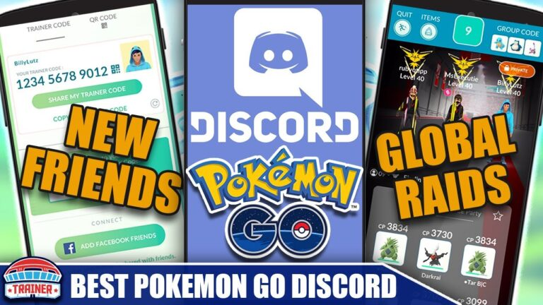 JOIN *THE BEST POKÉMON GO DISCORD SERVER* IN THE WORLD – THE TRAINER CLUB DISCORD   Pokémon GO