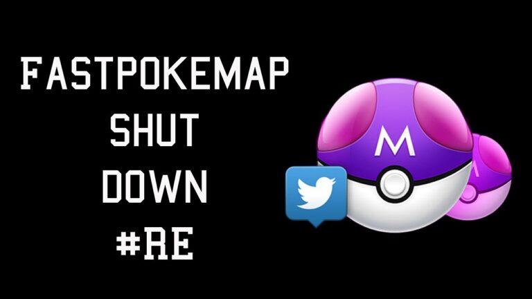 FastPokeMap Shut down for Good – Pokemon Go News and Updates