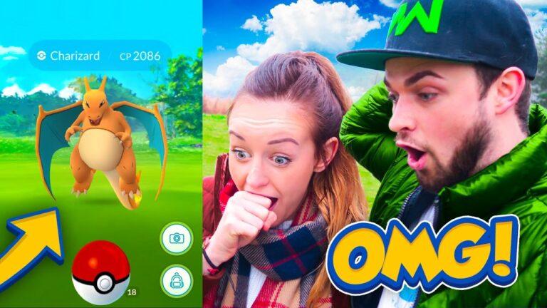 DID I CATCH IT!? – Pokemon GO! (NEW EVOLUTION + EPIC CHARIZARD)