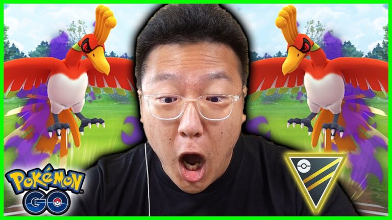 NIANTIC KICKED ME OUT WHILE USING SHADOW HO-OH IN GO BATTLE LEAGUE IN POKEMON GO
