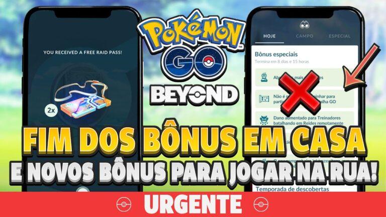 URGENTE: Mudanças nos bônus da Pandemia e NOVO Bônus de Exploração! Saiba tudo! | Pokémon GO