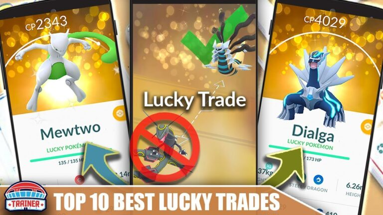 TOP 10 MOST IMPACTFUL POKEMON TO LUCKY TRADE – WHO WILL BE THE BEST FOR THE LONGEST   POKÉMON GO