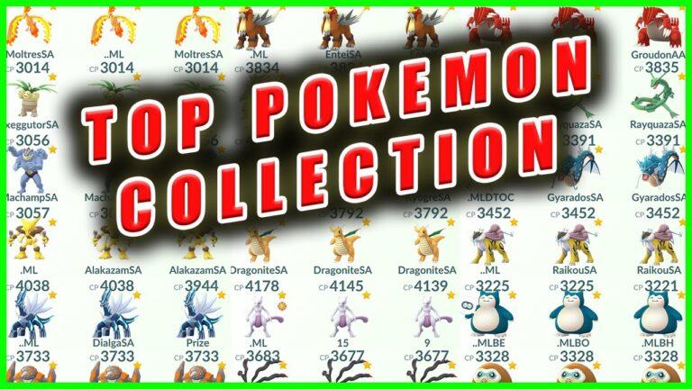 BRANDONTAN91'S TOP POKEMON COLLECTION – Pokemon GO