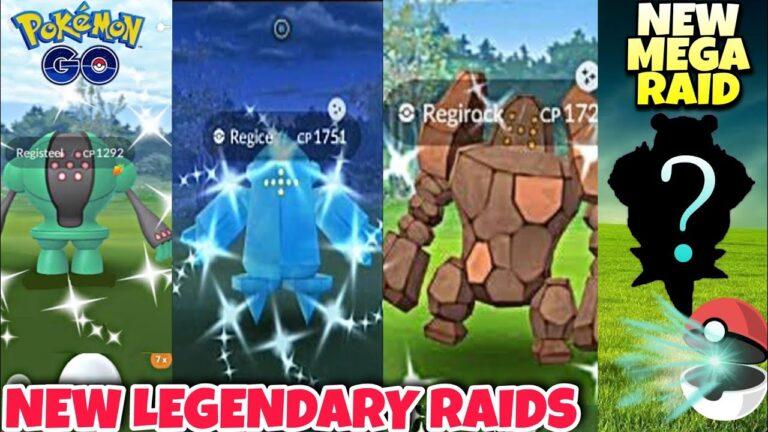 Registeel, Regirock and Regice Raids | Pokemon go news | Mega Slowbro raid | Pokemon go updates