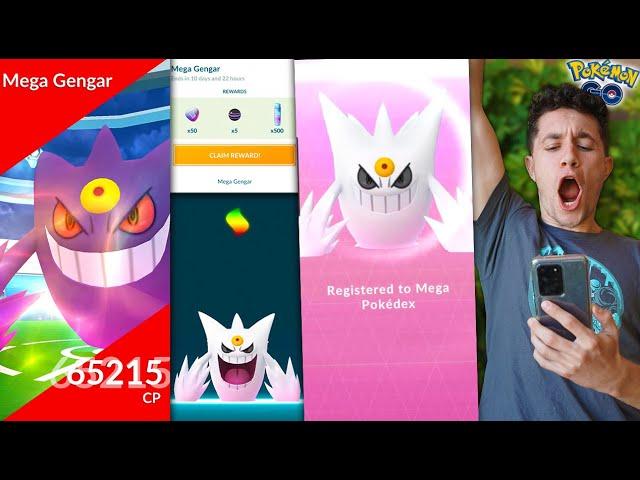 MY GREATEST EVOLUTION EVER – SHINY MEGA GENGAR in Pokémon GO! (Halloween Update)