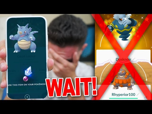 DON'T USE YOUR SINNOH STONE BEFORE SEEING THIS! (Pokémon GO)