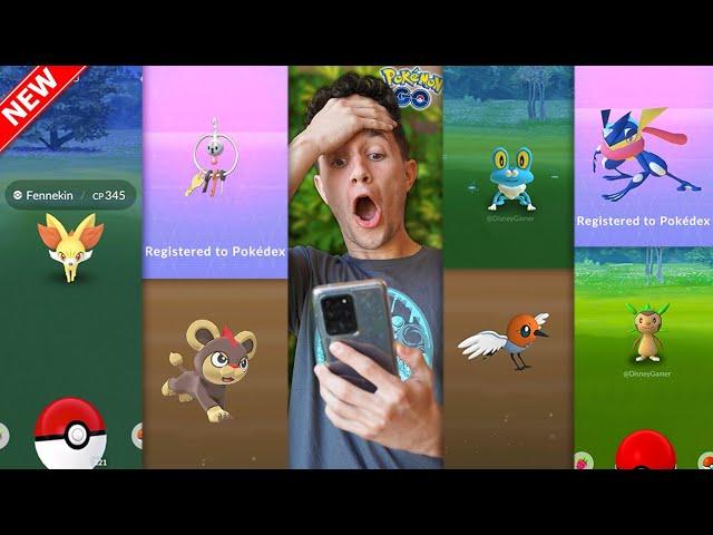 * GENERATION 6 * in Pokémon GO + NEW MASSIVE XP UPDATE!