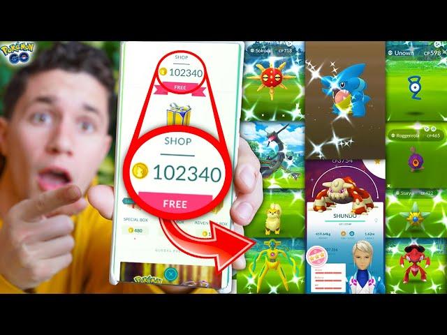 Here's What 100,000 POKÉCOINS Got Me in Pokémon GO!