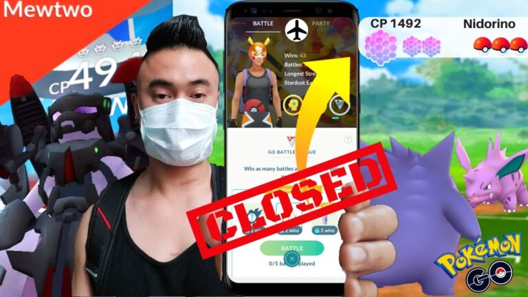 Go Battle CLOSED! Here's why ! Pokemon Go (2020)