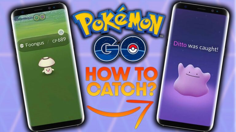 HOW TO CATCH DITTO in POKEMON GO? (JULY)