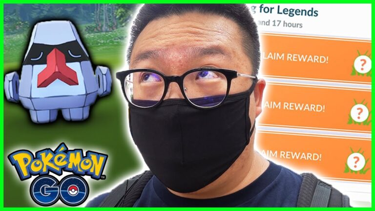 SEARCHING FOR LEGENDS TIMED RESEARCH IN POKEMON GO