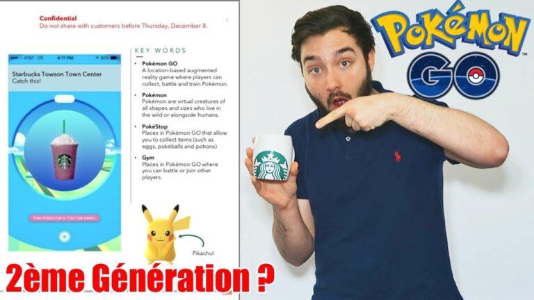 NOUVEAUX POKEMON GO & BOISSON POKEMON GO ?! – Pokemon GO NEWS