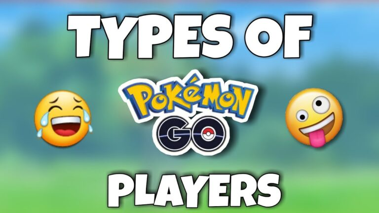 😂Types of Pokemon go players   Pokémon Go.