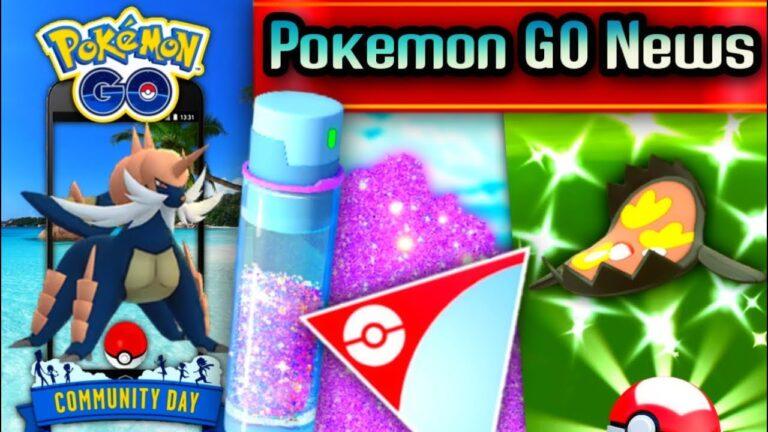 Pokemon GO News// Shiny Oshawott Community Day // Shiny Galarian Stunfisk & shiny tasks