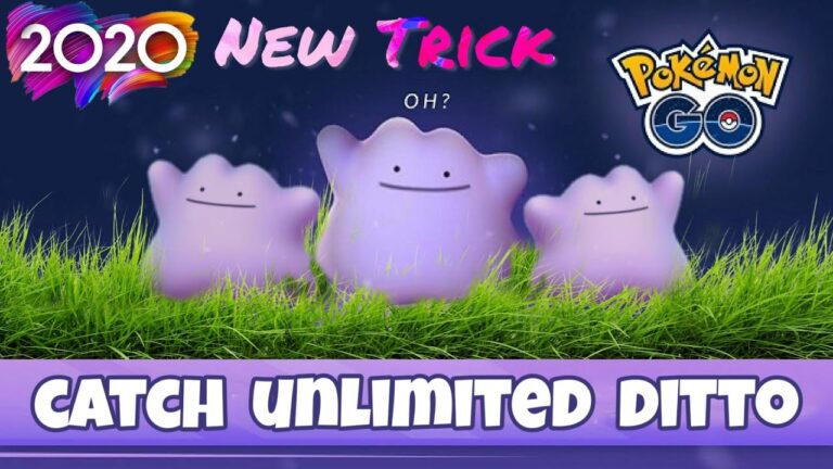 How to find Ditto in Pokemon Go 2020, Get Unlimited Ditto in Pokemon Go, Ditto Nest Coordinates