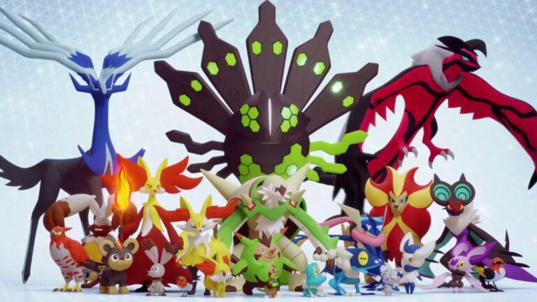 Pokémon originally discovered in the Kalos region are now in Pokémon GO!