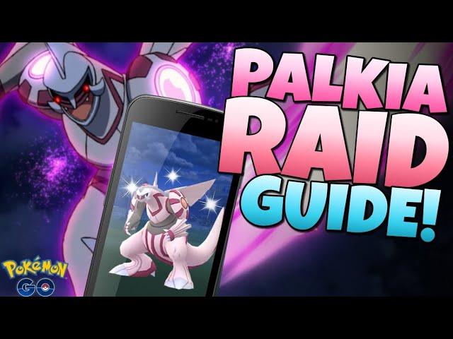 HOW TO GET SHINY PALKIA!!  Pokémon GO Raid Guide!