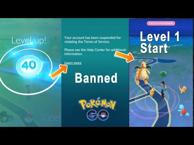 Omg banned Pokemon Go Level 40 with 17 Million Stardust! How to get back from Square one?