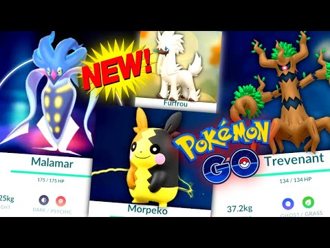 *NEW EVENT NEWS* Malamar is so good in Pokemon GO // NEW Furfrou & Trevenant