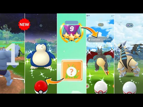 Gbl Season 9 in Pokemon go | New Reward & Legendary pokemons from Gbl | Go Battle League season 9