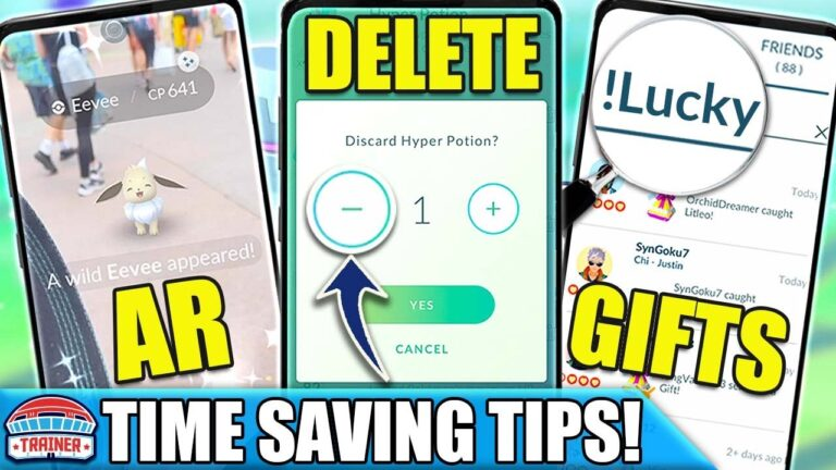 TOP 25 *TIME SAVING TIPS* – DO MORE WITH YOUR TIME PLAYING – TIME SAVING HACKS| Pokémon GO