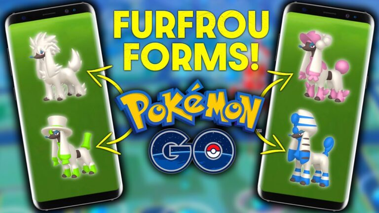 ALL *FURFROU FORMS* & WHERE TO GET THEM in POKEMON GO