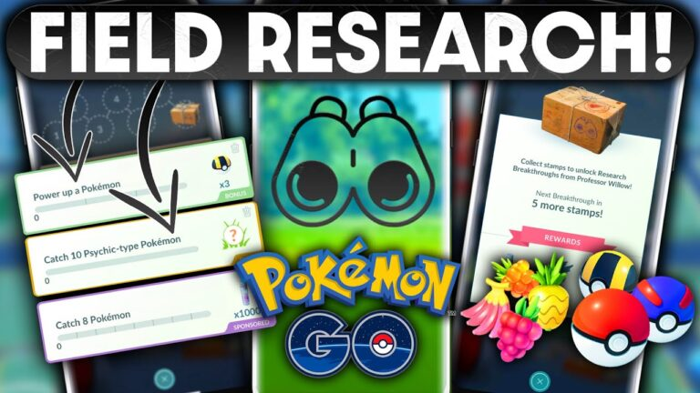 FULL GUIDE TO *FIELD RESEARCH* in POKEMON GO | TIPS & TRICKS