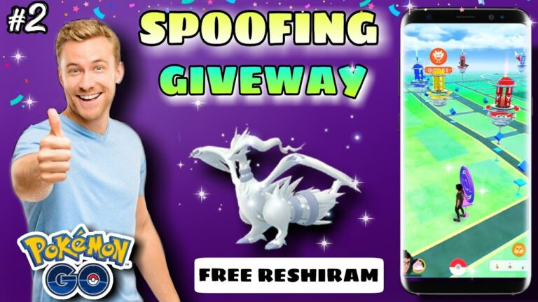 SPOOFING GIVEWAY #2 || Free Reshiram Giveaway || Reshiram Pokemon go 2020 || free Spoofing for you.
