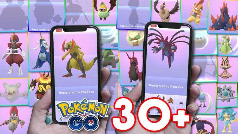 EVOLVING 30+ NEW POKÉMON IN POKÉMON GO (Pokémon GO Gen 6 Prep)