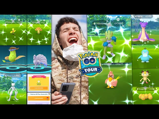 THE GREATEST POKÉMON GO EVENT IN HISTORY – THE KANTO TOUR EVENT!
