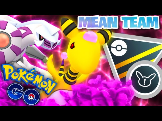 Shadow Ampharos & Palkia in Ultra GO Battle League for Pokemon GO