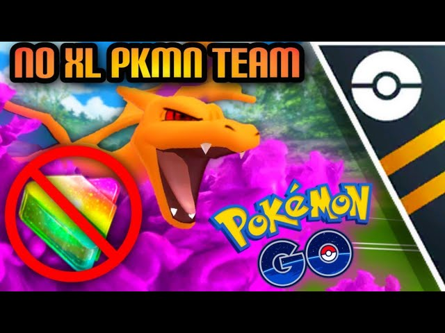 NO XL Team in Ultra GO Battle League for Pokemon GO // Shadow Charizard running the show