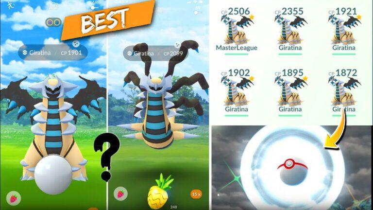 Best *Giratina* in pokemon go | how to catch giratina in Pokemon go | altered & origin giratina.