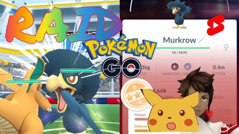Raid Murkrow – Pokémon GO incursión nivel 1 #Shorts