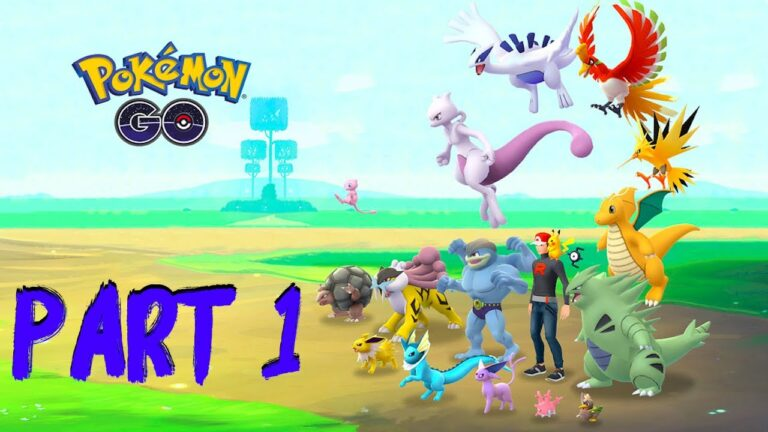 Pokémon GO PART 1 Gameplay Walkthrough – iOS / Android