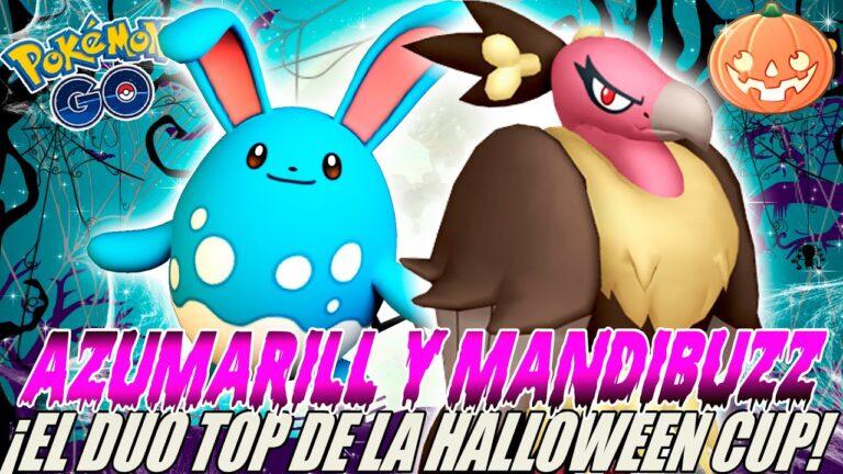 ¡EL DUO MÁS TOP DE HALLOWEEN CUP! MANDIBUZZ Y AZUMARILL COPA HALLOWEEN GO BATTLE LEAGUE – POKEMON GO